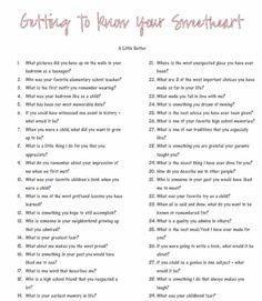 Getting to know your sweetheart better questions - Date Night Questions 20 Questions, Dating Questions, Date Night Questions, Random Questions, Big Talk Questions, Fun Couple Questions, Intimate Questions For Couples, Crush Questions, Icebreaker Questions