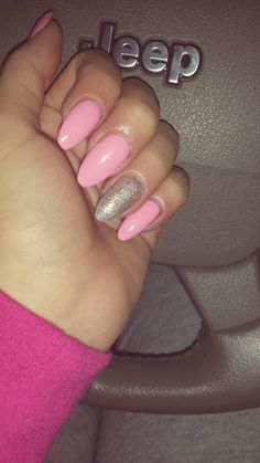 My almond nails ♡♡♡