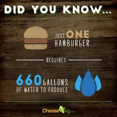 If you really want to save water, ditch the meat <3 #MyVeganJournal