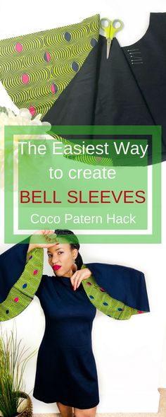 a lovely hack of the coco pattern by Tilly and the buttons