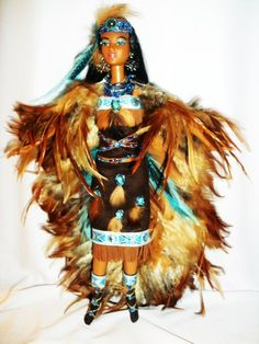 Spirit of the Wind  Native America barbie doll ooak  ~sold~