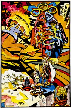 Jack Kirby Designed an Intergalactic Super Bowl for the NFL One Time