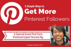 5 tips to get more #Pinterest followers.