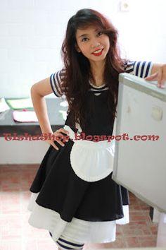 France maid apron