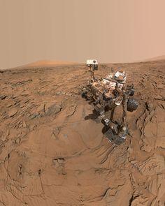 """yourestella: """" Curiosity on Mars. """""""