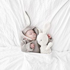 Instagram photo by @oeufnyc Oeufnyc Oeuf bunny hoodie kidswear kids babies knit