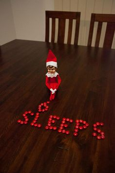 This was our first year of Elf on the Shelf. Lots of things learnt....plan better where I set up so the photos look good! Have a few quick and easy ideas on hand for those nights you fall into bed and remember the elf still hasn't moved, take lots of photos - the kids LOVE it!