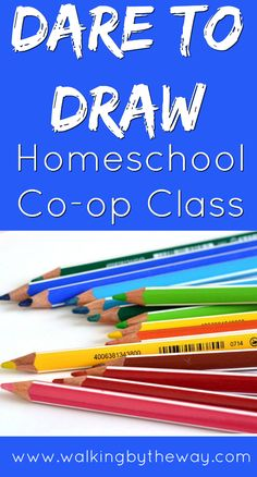 Dare to Draw Homeschool Co-op Class from Walking by the Way