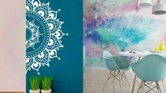 Ιδέες για πρωτότυπα χρώματα & σχέδια στους τοίχους του σπιτιού Cleaning Hacks, Tapestry, Home Decor, Hanging Tapestry, Tapestries, Decoration Home, Room Decor, Home Interior Design, Needlepoint