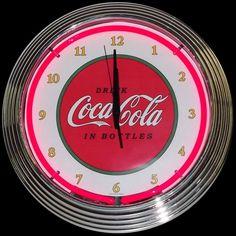 Neonetics Coca-Cola 1910 Classic Neon Clock - 8CCCLA