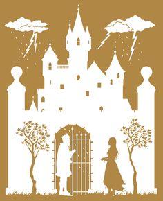 Siluetas diseñadas por Laura Barrett para The Fairy Tales of Hans Christian Andersen Noel Daniel (ed.) Taschen (2013) http://www.yekibud.es/2013/11/27/los-cuentos-de-hans-christian-andersen/