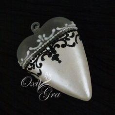 #OxiGra #decorative #painting #ornament #handmade #serce #ręcznie #malowane