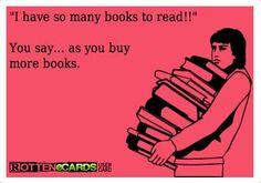 Soooo many books