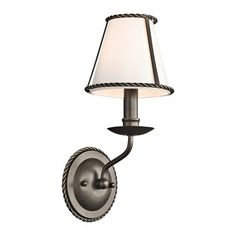 Kichler Lighting 43343OZ 1 Light Donington Wall Sconce This 1 Light Wall Sconce from Kichler Lighting comes in an olde bronze finish. It is offered with