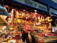 Mercado de Vegueta on Gran Canaria, Canary Islands, Spain