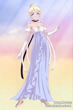 Sailor Cinderella ~ by Saundra_Banks ~ created using the Sailor Senshi doll maker | DollDivine.com