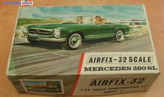 I like this www.airfixmodels.co.uk/model-car-kits.html Plastic Model Kits, Plastic Models, Mercedes 280, Airfix Models, Airfix Kits, Monogram Models, Cross Paintings, Aviation Art, Old Models