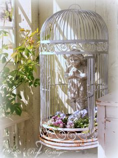 Ideas For Bird Cage Outdoor Shabby Chic