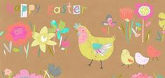 Abigail Brown - Illustration: Easter cards at M&S