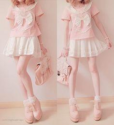 Kawaii japanese schoolgirl uniform