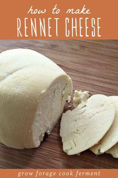 This simple homemade rennet cheese recipe is the perfect introduction to cheese making! This cheese can be cultured with either milk kefir or yogurt, so you get all of the probiotic benefits they offer. Plus this easy homemade cheese recipe uses just rennet, and doesn't really require any other special tools or ingredients besides cheesecloth. So easy! #cheese #realfood