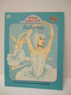 Ballerina Deluxe Paper Doll, Golden #1699 (1 of 11)