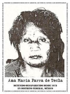 """Familia Tecla Parra: víctima de desaparición forzada durante la llamada """"Guerra Sucia"""""""