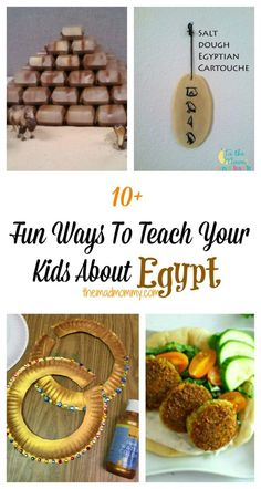 Fun Ways To Teach Your Kids About Egypt Egypt has always been a land of mystery and wonder! It holds so many secrets of the past and is also, equally moving towards the future. Here are fun ways to teach your kids about Egypt. Ancient Egypt Activities, Ancient Egypt Crafts, Ancient Egypt For Kids, Egyptian Crafts, Egyptian Party, Ancient Aliens, Ancient Greece, Teaching Kids, Kids Learning