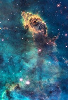 Astronomy Fabric Jet in Carina Nebula Hubble Photograph on EQ Printable Cotton Fabric Sheet. Cosmos, Space Photos, Space Images, Nasa Space Pictures, Hubble Space Telescope, Space And Astronomy, Space Photography, To Infinity And Beyond, Deep Space