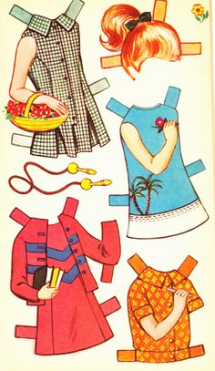 Juliet Cut Out Doll Dressing Storybook (6 of 6), 1950s, Sandles