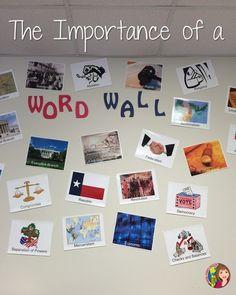 Using Word Walls Successfully in Social Studies