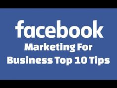 Facebook marketing for business top 10 tips for more engagement, fans, traffic, and sales. In this video, you will learn how to market your business on Facebook better. I'll give you 10 of the top tips for getting more fans, likes, engagement, traffic, clicks and sales for your Facebook page. I'll mention things like what …