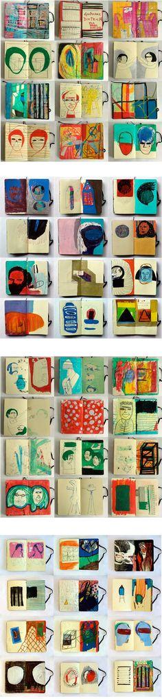 Guilherme Dietrich sketchbooks