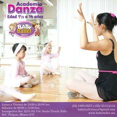 BALLET Disciplina artística que cuenta con una técnica y terminología establecida y representa la base para cualquier género dancístico. Promueve concentración, precisión y elegancia en los movimientos además de elasticidad y correcta postura corporal.