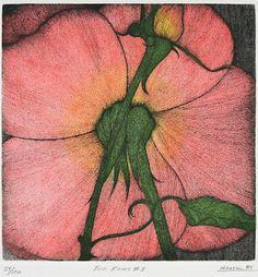 Art Hansen : Two Roses #3 at Davidson Galleries