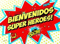 Vuelta Manzana: Un cumpleaños de Superhéroes
