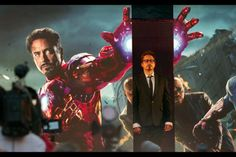 "Robert Downey Jr. - London premiere of ""The Avengers,"" 2012"