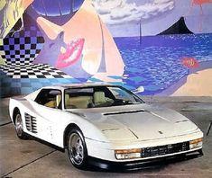 1989 Ferrari White Testarossa