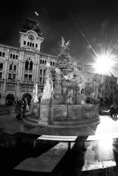 Union of Italy square, Trieste, Italy
