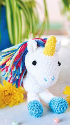 FREE CROCHET PATTERN: Amigurumi unicorn