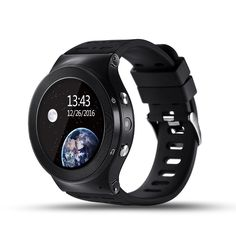 S99 3G Smart watch, Android 5.1 OS, Quad Core support 2.0MP Camera Bluetooth SIM Card WiFi GPS Heart Rate Monitor (Black). Compatible System: Only support for Android 5.1/Windows OS installed in it. Wireless Connectivity: 3G,Bluetooth 4.0,GPS,GSM,WiFi. Functions: Find Phone, Pedometer, Heart rate measurement, Sedentary reminder, Water remainder, GPS, Gravity sensor, Remote control music (S99 itself dosen't have the function playing music. ). Wifi Smart watch,make fashion and science…