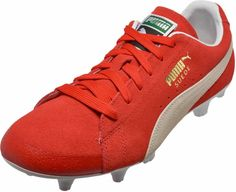PUMA Future Suede FG – 50th Anniversary – Red White Soccer Shoes df916f48c