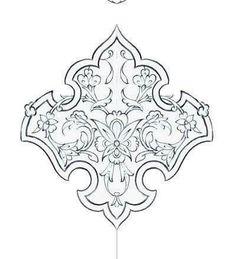 Islamic Art Pattern, Arabic Pattern, Pattern Art, Motif Arabesque, Gothic Pattern, Persian Pattern, Chinese Patterns, Turkish Art, Islamic Art Calligraphy