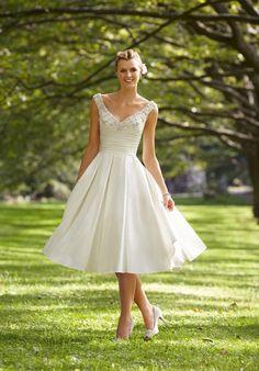 perfect tea length dress