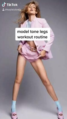 Click the Link to Checkout Workout Accessories Related to Legs and Lower Body... #legsworkout #exercises Fitness Workouts, Gym Workout Tips, Fitness Workout For Women, Butt Workout, Workout Videos, Fitness Tips, Body Fitness, Inner Leg Workouts, Slim Waist Workout