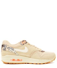 wholesale dealer 90cfa cbd1a Nike Beige Air Max 1 Print Trainers Beige Sneakers, Floral Sneakers, Beige  Shoes,