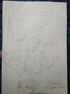 Practica 2 2 Metodo De Betty Edwards Dibujar Con El Lado Derecho Del Cerebro Dibujo Invertido Lado Derecho Del Cerebro Dibujos Metodo