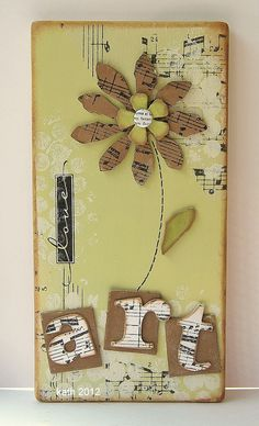 Kath's Blog......diary of the everyday life of a crafter: Having Fun With Altered Art