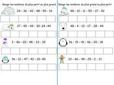EXERCICES JUSQUE 50 - THEME FROID ET HIVER