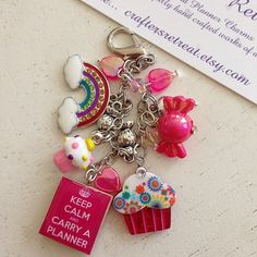 Love Love Love this charm... Keep Calm and Carry A Planner Candies and by CraftersRetreat